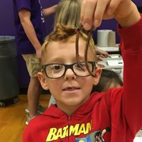 STEM Day 3rd Grade Boy with Worm Sept 2017