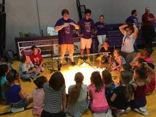 STEM Day CHS Students Teaching Solar to 3rd Graders Sept 2017